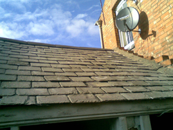 Damaged Slates Amp Roof Tile Repairs Leicester Uk